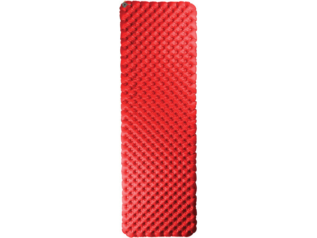 Sea to Summit Comfort Plus Insulated Mat Large Rectangular Red